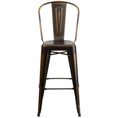 Cercis 30 Bar Stool Finish: Deluxe Distressed Copper