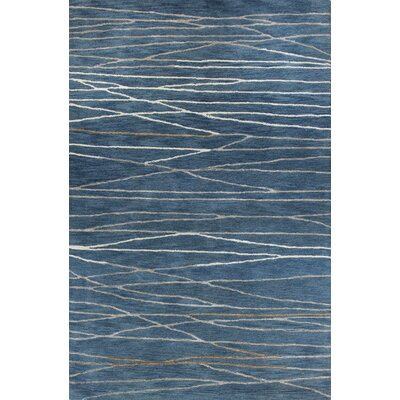 West Elk Hand-Tufted Azure Area Rug Rug Size: 56 x 86