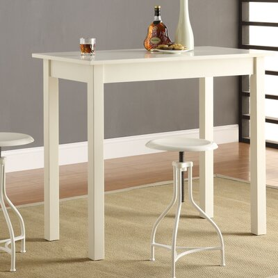 Gilpatrick Counter Height Dining Table Color: Off-White