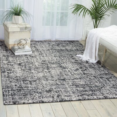 Arabelle Black/Beige Area Rug