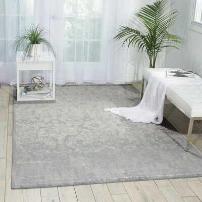 South Aurora Slate Area Rug Rug Size: 79 x 99