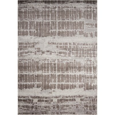South Aurora Brown Area Rug Rug Size: 56 x 8