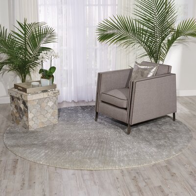 South Aurora Gray Area Rug Rug Size: 79 x 99