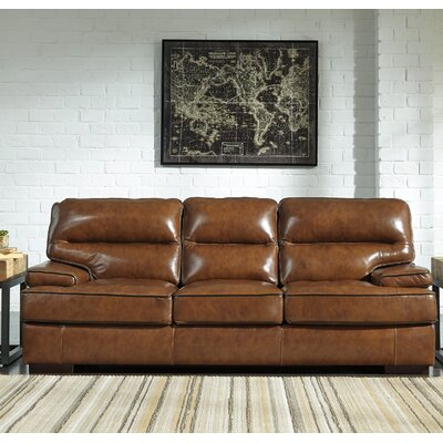 Haines Leather Sofa