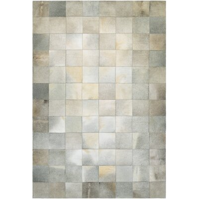 Easthampton Hand-Woven Ivory Area Rug Rug Size: Rectangle 36 x 56