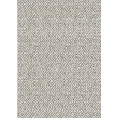 Waller Light Brown Indoor/Outdoor Area Rug Rug Size: Rectangle 2 x 37