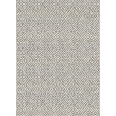 Waller Light Brown Indoor/Outdoor Area Rug Rug Size: Rectangle 86 x 13