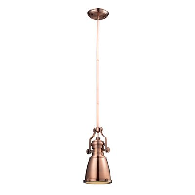 Westlake Village 1-Light Pendant Finish: Antique Copper