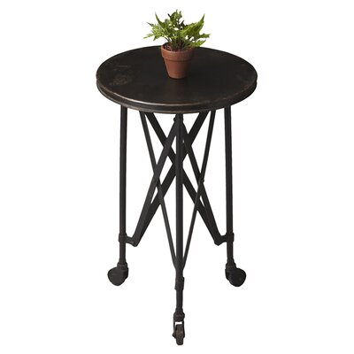 Jorma End Table Color: Black
