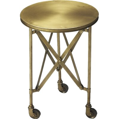 Essex End Table Finish: Gold Industrial Chic