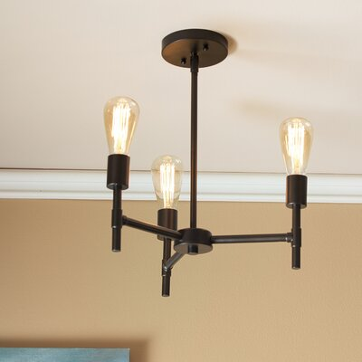 Warford 3-Light Sputnik Chandelier