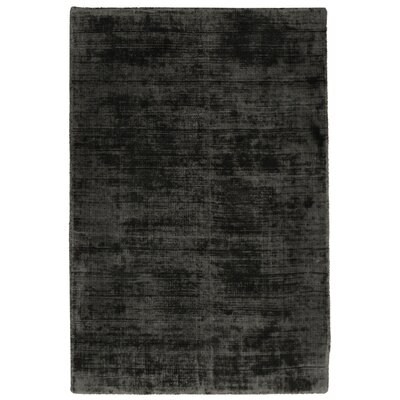 Pinos Hand-Woven Charcoal Area Rug Rug Size: 5 x 8