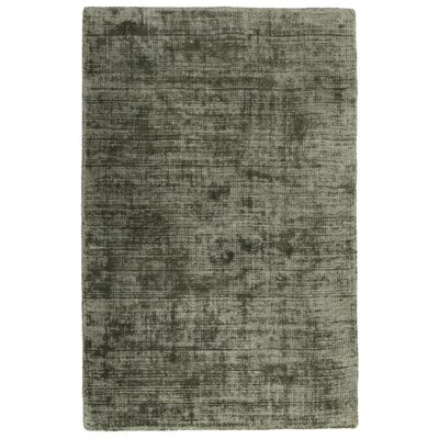 Zayne Hand-Woven Gray Area Rug Rug Size: 5 x 8