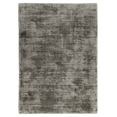 Pinos Hand-Woven Gray Area Rug Rug Size: 5 x 8