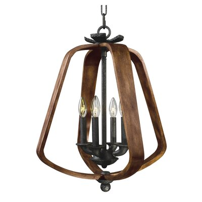 Calana 4-Light Candle-Style Chandelier