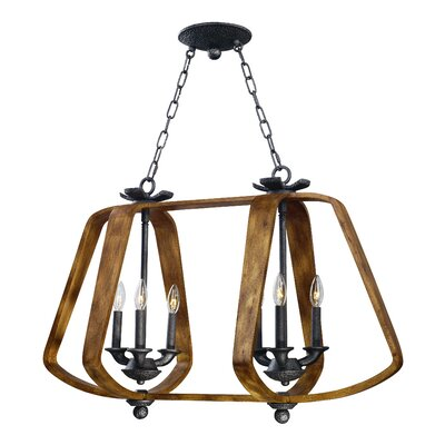 Ranchester 6-Light Candle-Style Chandelier