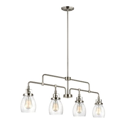 Panorama Point 4-Light Kitchen Island Pendant