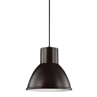Cardwell 1-Light Pendant Finish: Burnt Sienna