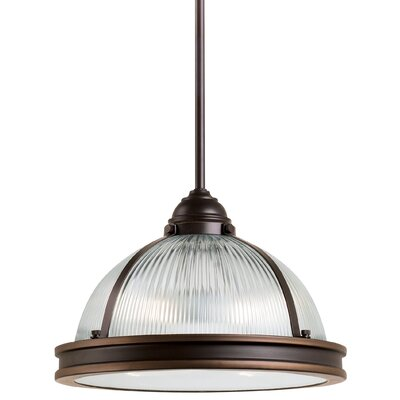 Mariel Prismatic 2-Light Inverted Pendant Finish: Autumn Bronze
