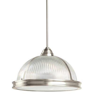 Palisade 3-Light Inverted Pendant Finish: Brushed Nickel