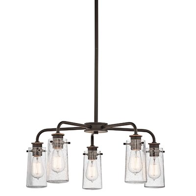 Fruita 5-Light Shaded Chandelier