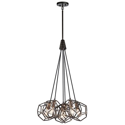 Tomaz 6-Light Cluster Pendant