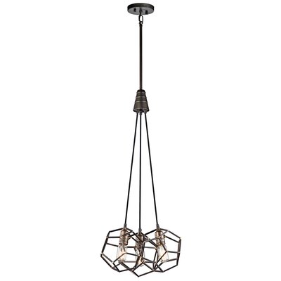 Tomaz 3-Light Cluster Pendant