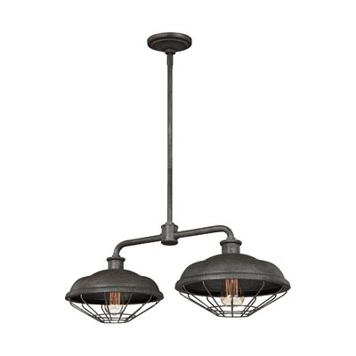Januario 2-Light Kitchen Island Pendant