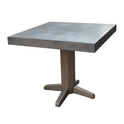 Sheree Concrete Square Dining Table