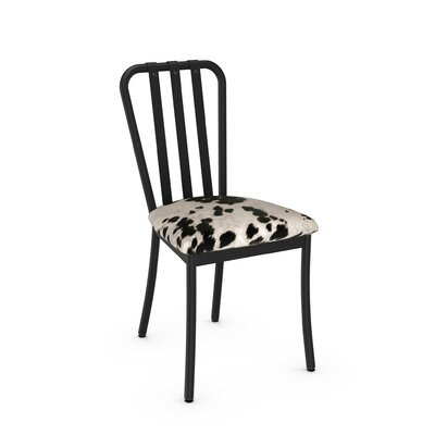 Middleburg Black Metal Side Chair Finish: Textured Black