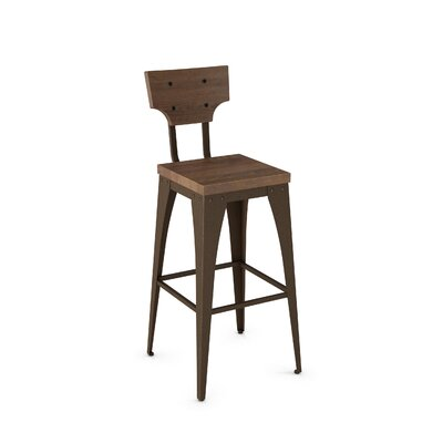 Mariana 26 Bar Stool Finish: Brown