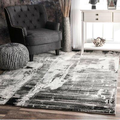 Baltwood Gray Area Rug Rug Size: 710 x 10