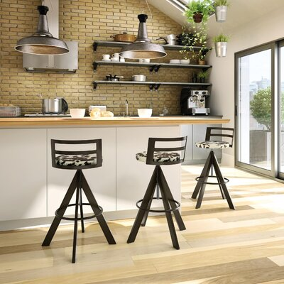 Chianna Adjustable Height Swivel Bar Stool
