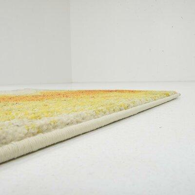 Venado Yellow Area Rug Rug Size: Runner 22 x 67