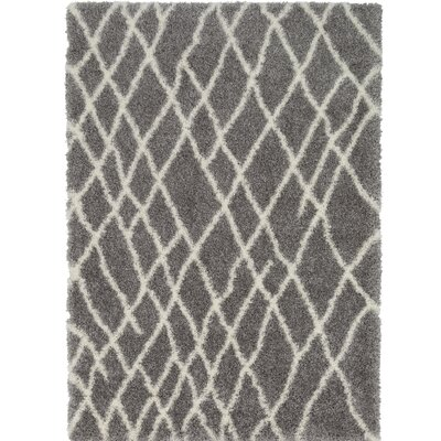 Zachariah Gray Area Rug Rug Size: Rectangle 5'3