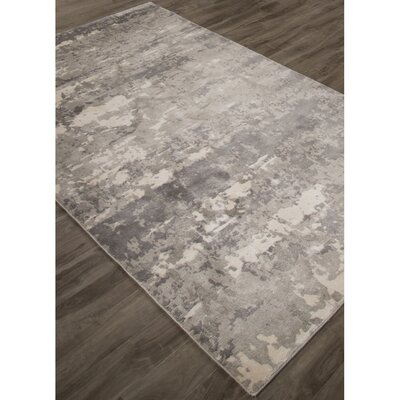 Ali Ivory/Gray Area Rug Rug Size: Rectangle 710 x 910