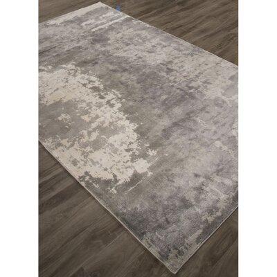 Ali Gray/Ivory Area Rug Rug Size: Rectangle 410 x 710