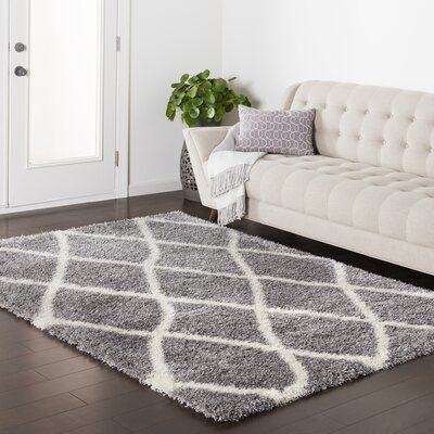 Kolton Gray Area Rug Rug Size: Rectangle 67 x 96