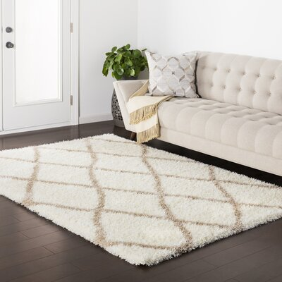 Kolton Beige Area Rug Rug Size: Rectangle 67 x 96