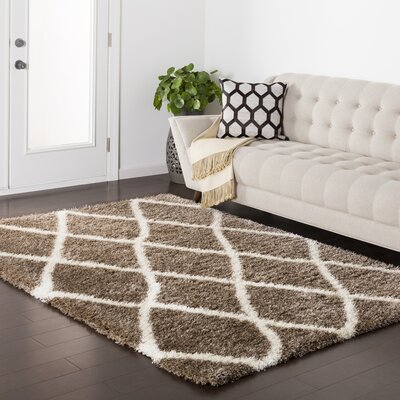 Kolton Brown Area Rug Rug Size: 710 x 103