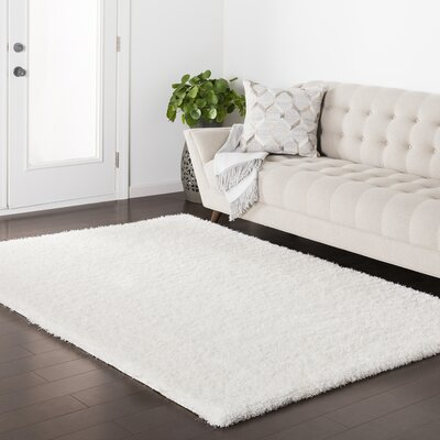 Red Hills White Area Rug Rug Size: 67 x 96