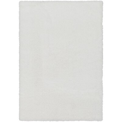 Red Hills White Area Rug Rug Size: 53 x 73