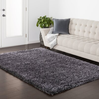 Red Hills Black Area Rug Rug Size: 2 x 3