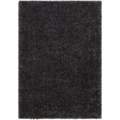 Marysville Black Area Rug Rug Size: 53 x 73