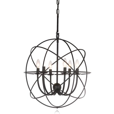 Lennert 6-Light Globe Pendant