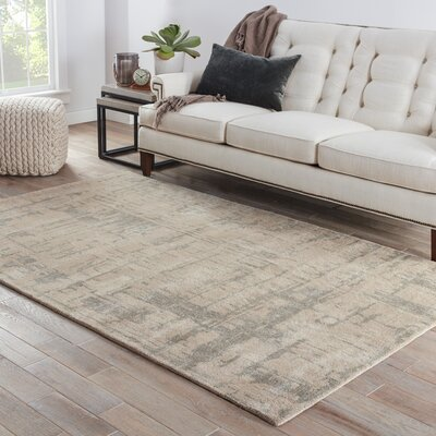 Elyse Taupe & Gray Area Rug Rug Size: 8 x 10