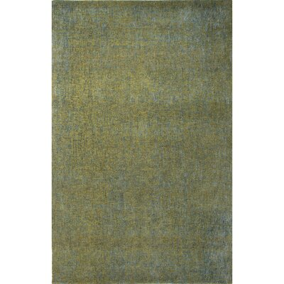 Carli Green Solid Area Rug Rug Size: Rectangle 8 x 10