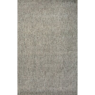 Carli Taupe Hand-Woven Silk Area Rug Rug Size: 5 x 8
