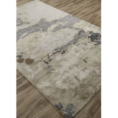 Barrington Hand-Tufted Beige/Gray Area Rug Rug Size: 9 x 12