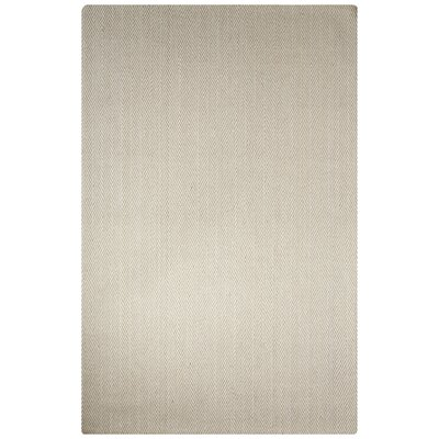 Murier Hand-Loomed Ivory/White Area Rug Rug Size: Rectangle 5 x 8